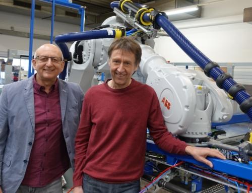 Pressemitteilung – Hightech aus Oberfranken: ITG greift Robotern unter die Arme