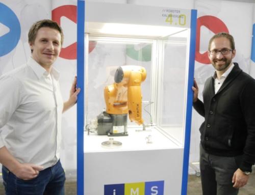 Oberfränkische Innovation ermöglicht Roboterkalibrierung 4.0